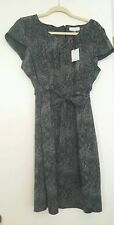 NWT~WOMENS CALVIN KLIEN CHARCOAL DRESS~SIZE 16~RETAILS $129~DEAL HERE