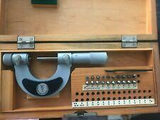 Suhl Screw Thread Pitch Micrometer 0 25mm Gewindemikrometer With Anviltip