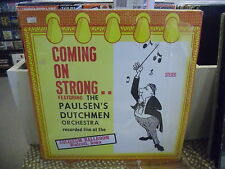Paulsen's Dutchmen Orchestra Coming On Strong LP VG+ Czech Records In Shrink