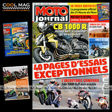 MOTO JOURNAL 1805 YAMAHA XTZ 660 YZF R1 HONDA CBR 1000 24 HEURES DU MANS 2008