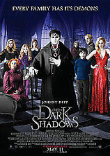 Dark Shadows DVD (2012) Johnny Depp New Sealed dvd