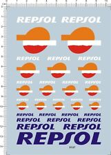 decals REPSOL for different scales model kits -5137