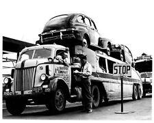1947 Ford COE Car Carrier Trailer Truck Photo Mercury u812-97J9PA