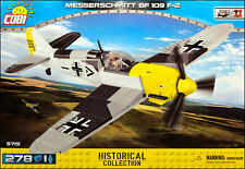 COBI Messerschmitt Bf 109 F-2 (5715) - 278 elem. - WWII German fighter aircraft