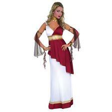 Donna Deluxe ROMANO TOGA GRECA GRECO Costume Egiziana 10-12