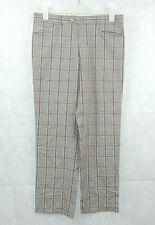 Stromberg Estoril Golf Trouser Check Straight Leg Size 36R CR191 AA 06