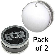 Silver Black Knob Switch for LAMONA LAM3200 LAM3300 LAM3207 LAM3404 Oven Hob 2