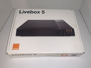 Livebox 5 Orange MODEM FIBRE COMPLET