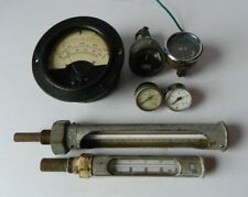 Collection of Vintage Gauges and Meters