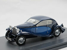 Matrix scale models 1930 Bugatti Type 46 Super perfiles Blue 1/43 Limited Edition