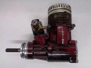 IRVINE 53  2 STROKE RED AERO ENGINE SPARES OR REPAIR