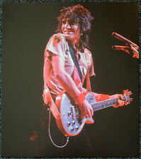 THE ROLLING STONES POSTER PAGE 1979 RON WOOD . Y72