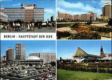 BERLIN Ost DDR Mehrbildkarte ua. Haus Elektroindustrie, Fernseh- UKW-Turm 1978