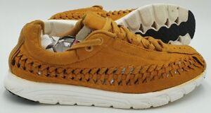Nike Mayfly Woven Suede Trainers 833132-700 Bronze/White UK7/US8/EU41
