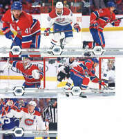 2019-20 Upper Deck Series 2 Montreal Canadiens Team Set of 6 Cards