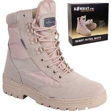 Kombat UK Men's Patrol Boots-desert Size 8