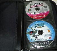 Lot of 21 PS2 Playstation 2 Games Sly Cooper Tony Hawks Gun Madden Flatout Golf