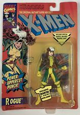 "ToyBiz Marvel X-Men ROGUE 5"" Figure w/Power Uppercut Punch New 1994 Vintage"