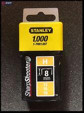 Stanley 1-TRR135T Agrafes Type H 13/15/19 8 mm 1000 Pièces TRR135T