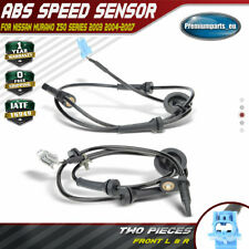 2x ABS Sensor Front Left and Right for Nissan Murano Z50 2003-2007 47910-CA000
