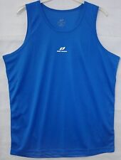 Pro Touch ICC Nestor Mens Running Gym Fitness Sport Vest Top Blue Small - XL