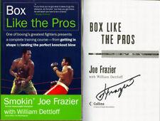 Smokin' Joe Frazier SIGNED AUTOGRAPHED Box Like the Pros SC CHAMP 1st Ed 1st Pr