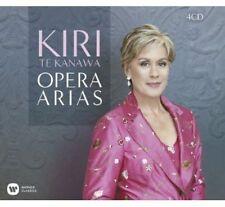 KIRI TE KANAWA Opera Arias 4CD BRAND NEW
