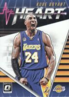 2018-19 Donruss Optic All Heart #19 Kobe Bryant Los Angeles Lakers