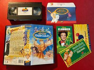 VHS Walt Disney HERCULES (ITA 1° 1998) Classici VS 4734 + BUSTA GADGET