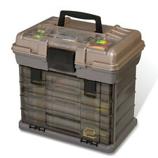 Plano Hard Systems Large 4-By Drawer Fishing / CraftsTackle Box w/ Top Access