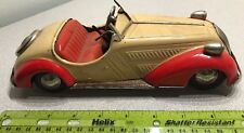 Distler Germany US Zone D-3150 Roadster Two-Toned Tin Litho Toy Wind-up Car