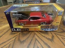 Jada Toys 1969 Chevy Chevelle SS Big time Muscle Dub City 1:24 Die Cast Car