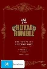 WWE - Royal Rumble - The Complete Anthology : Vol 2 (DVD, 2012, 5-Disc Set) NEW