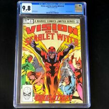 Vision and the Scarlet Witch #4 💥 CGC 9.8 WHITE PG 💥 Magneto Marvel Comic 1983