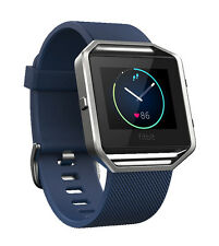 Fitbit Blaze Smart Fitness Watch - Blue (Large)