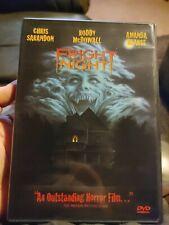 Fright Night Dvd 1985 Horror Sci-Fi Movie 80's Chris Sarandon Roddy McDowall