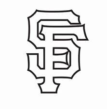 San Francisco Giants MLB Baseball Vinyl Die Cut Car Decal Sticker-FREE SHIPPING