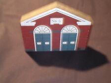 The Cat's Meow Series Iii Connecticut Avenue Firehouse 1985 , Free Shipping