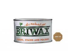 BRIWAX Original Dark Oak Wax Polish 400g Wood Furniture Cleaner Restorer