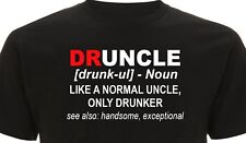 Funny Shirt For Uncle - Druncle Drunk Uncle Christmas shirt novelty gift T Shirt