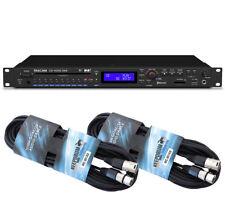 Tascam CD-400U DAB Medien-Player + 2 XLR Kabel 6m
