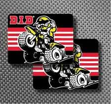 """2x DID Chain 3.8"""" Decal Stickers ATC 70, 350x, tecate, yamaha, 110, 250r, 200x"""