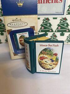 Sticky Situation Christmas Disney Hallmark Keepsake Winnie Pooh Ornament NIB
