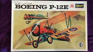 Hasegawa 1:32 Boeing P-12E US Army Pursuit Plane Model Kit #JS-061 *SEALED BAG*