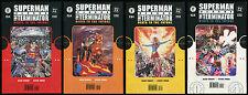 Superman Versus The Terminator Comic full set 1-2-3-4 Lot Man of Steel Supergirl