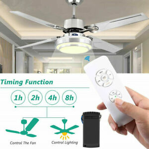 10M Wireless Timing Fan Remote Control Receiver Ceiling Light Kit Lamp.
