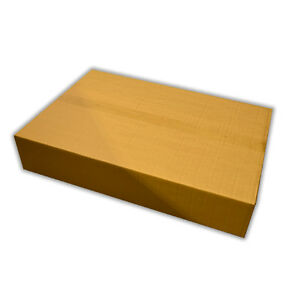 LARGE SHIPPING POSTAL STRONG REINFORCED WALL CARDBOARD BOX SCREEN ☆ 70x45x12.5cm
