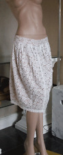 Joseph Ribkoff BNWT UK 10 Fabulous Cream lace over Beige Layer Skirt