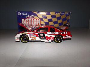 1/24 HUT STRICKLIN #8 CIRCUIT CITY BW/BANK  1998 ACTION NASCAR DIECAST