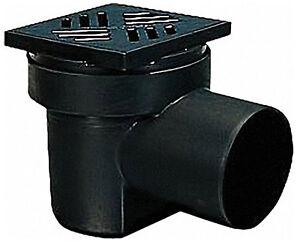 Kessel Bodenablauf DN100 150 x 150 Geruchsverschluss + Schlammeimer Kellerablauf